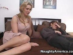 Tanya Tate & Danny Wylde in My Homies Warm Mom