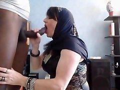 アラブ女の子いblowjob