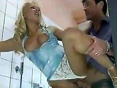 Naughty Wife Porks Stranger In Public Toilet...F70