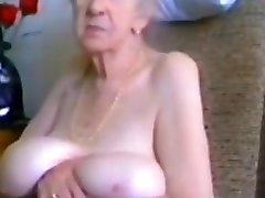 暑い手作りの映画の集大成し、Granniesシーン
