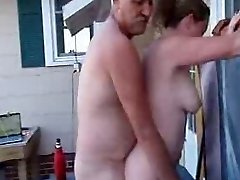 My Manager Pulverizes My Wife In the Outdoor Spa