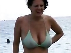 Mom In Her Bikini
