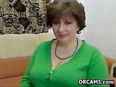 Monstrous Mature Woman Does A Striptease