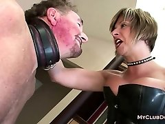 Mature Femdom Loves Slapping Her Victim