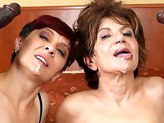 Grannies Hardcore Smashed Interracial Porn with Old Women sex