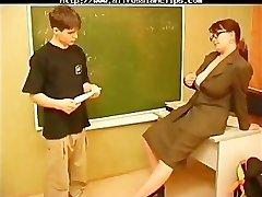Russian Mature Teacher And Youthful Stud russian jizz flows swallow