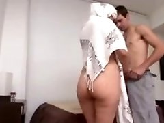 Hot Arab Milf Big Rump fucked firm by Euro guy