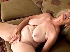 Pierced Nipples Grannie Fingers