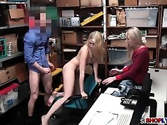 Shoplifter Sierra Nicole banged in front of her mom