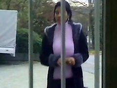 HUGE Orb Turkish Mature Gargles and Fucks Many Cocks