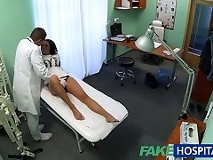 FakeHospital Super-fucking-hot black haired mom cheats on hubby