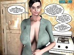 3D Comic: Raymond. Vignettes 3-6