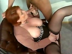 Kira Red - German Mature banged in the Office