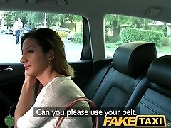 FakeTaxi Smokin hot Romanian makes my cock sight good