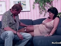 German Mom and Father in Porno Casting for less Money