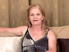 Grandma - Interview and Masturbation