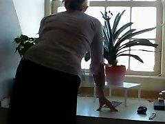 Mature milf mom unshaved blond casting stockings fledgling