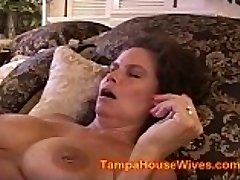 2 Cougar WIVES fucked by BOAT CREW