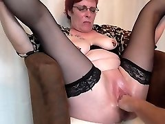 Mature squirting fisting ejaculations
