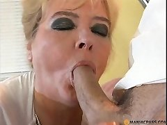 Grandmother fucked in a hospital