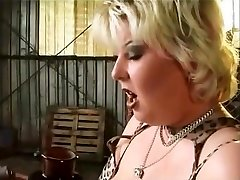chubby babe well nailed and taking a facial