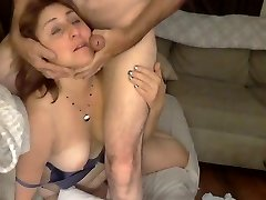 Yam-sized Ass Mommy Gets A Facial