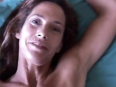 Slim older babe enjoys a firm cock in her tight asshole