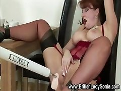 Mature british breezy fetish machine fuck