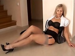 GRAY NYLONS mommy I'd like to plow