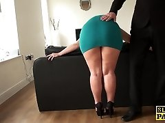 Mature sub assfucked until red moist and ruined