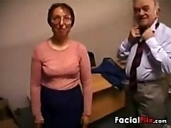 Gross Mature Woman Gets Fucked By An Old Fart