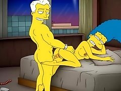 Cartoon Pornography Simpsons Porn mother Marge have