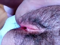 HAIRY AND Tempting Cunny WITH SOFT LIPS DRENCHED WITH SPERM