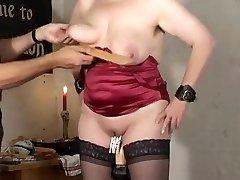 Amazing amateur BDSM, Fetish fuckfest movie