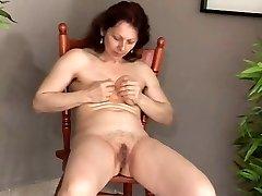 Masturbation Mature Unloads-daddi