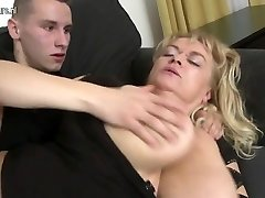 Amateur big mature mom fucks her sonnies friend