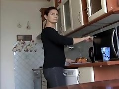 Beautiful mature redhead wife squirting