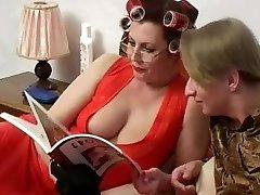 Buxomy Mom Helga and Slava 1