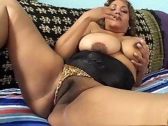 Exotic pornographic star in crazy mature, latina porn movie