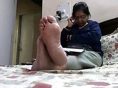 Feet of Mature Indian Queen 6
