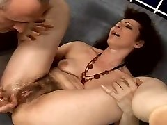 wooly granny anal squirter