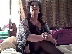 Fabulous homemade Mature, Smoking lovemaking clip