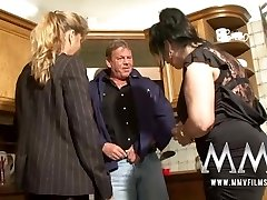 MMV Films Two mature wifes sharing a manstick