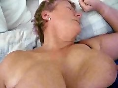 dutch mature granny cougar with monstrous tits getting fucked