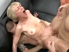 Downright Slutty Granny Loves To Take Young Cocks And Jizz !