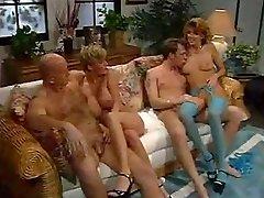 Hardcore group orgy with mature fucksluts.