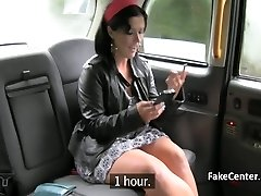 Mature gypsy got assfuck ravage in taxi