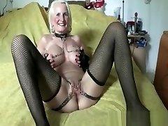Iam Pierced grandma pith pussy piercing and chain Super kinky