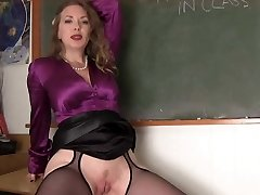Mistress Instructor And Her Student