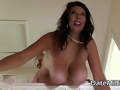 Huge Natural Tits Milf from DateMilfs(dot)net